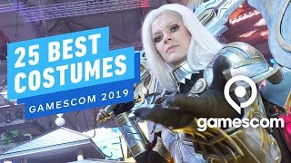 25 of the Best Costumes We Saw at Gamescom 2019
