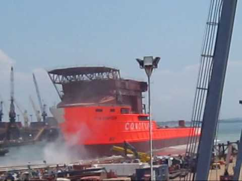 Coastline Launch the Sampson DP3 Vessel