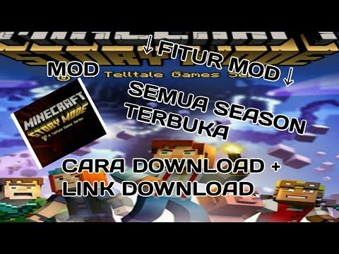 CARA DOWNLOAD MINECRAFT STORY MODE (MOD) - TUTORIAL GAMES