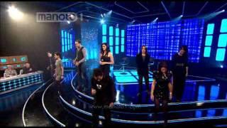 اجرای گروهی زنده ترانه یه حرفایی Googoosh Music Academy 2011
