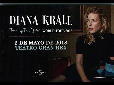 Diana Krall En Argentina 2018