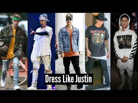 HOW TO DRESS LIKE JUSTIN BIEBER 2018 - CHEAPER ALTERNATIVES