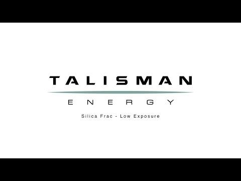 Talisman Energy - Silica Fracking
