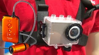 GoPro Me-Too? NoBro - Panasonic HX-A100 Wearable Cam - Blunty Does CES