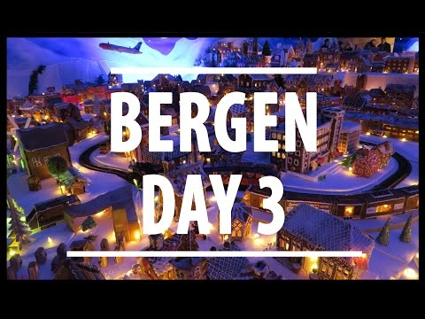Fjords & The Largest Gingerbread City in the World! Bergen Vlogmas Travel || PartTimeWanderlust