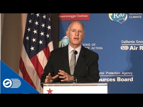 Governor Jerry Brown's speaks at #CARoad2Paris Climate Change Symposium