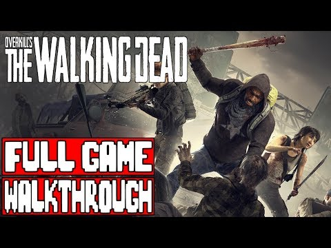 OVERKILL'S THE WALKING DEAD Gameplay Walkthrough Part 1 FULL GAME - No Commentary