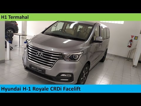 Hyundai H-1 Royale CRDi Facelift Review - Indonesia