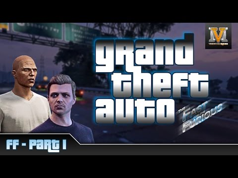 The Fast and the Furious - The Movie in Gta 5 Online - PS4 - Part1