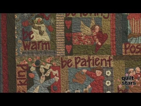 Quilt With The Stars - Nancy Halvorsen Part 3 - YouTube : quilting with the stars - Adamdwight.com