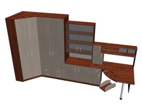 3D дизайн меблів дитяча кімната