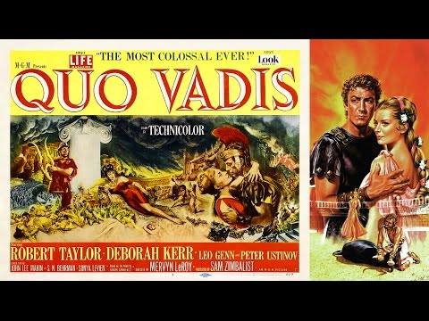 MOVIE REVIEWS #53 – Quo Vadis – film classic easter christian christianity religious rome roman