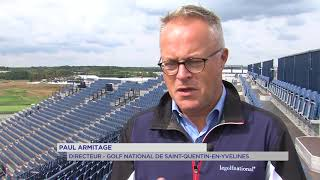 "Ryder Cup : La ""Super Tribune"" prend forme au Golf National de SQY"