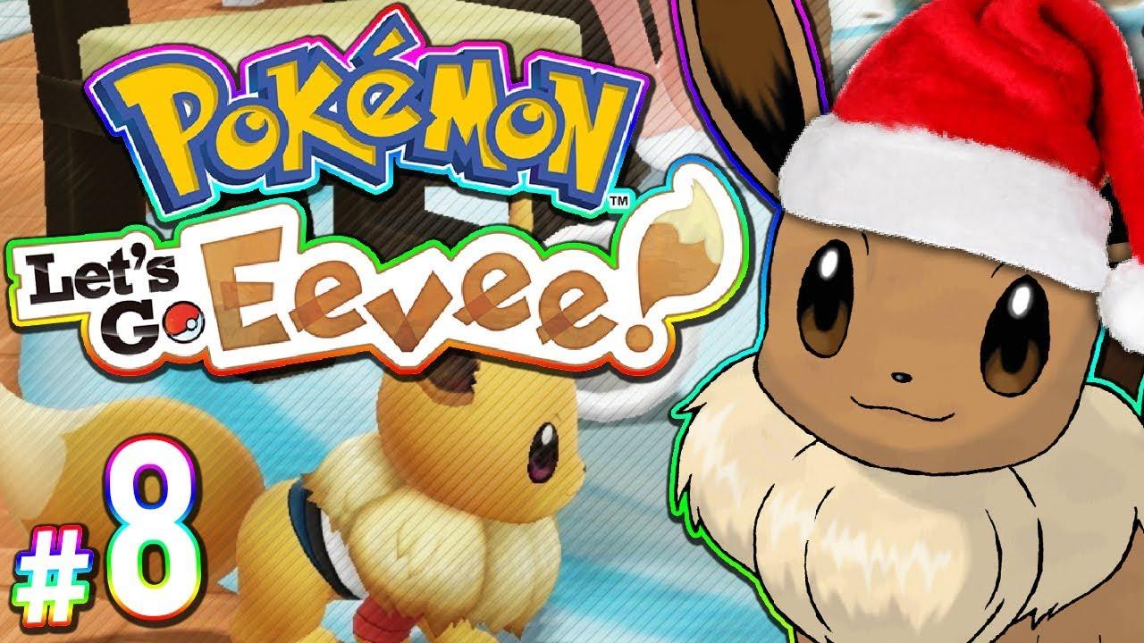 Christmas Eevee.Pokemon Let S Go Eevee Christmas Eevee Part 8
