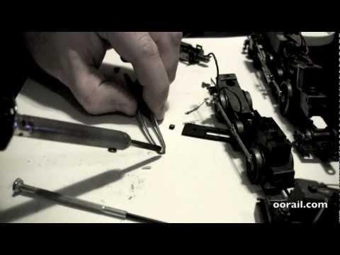 oorail.com | Replacing Tri-ang Hornby OO Gauge X03 X04 Brush Motor Heads