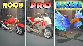 NOOB vs PRO vs HACKER – Racing Smash 3D (iOS)