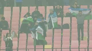 Uzbekistan in dreamland! Jasurbek Yakhshiboev scores goal no. 3!