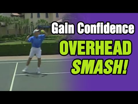 Tennis - How To Gain Confidence In Your Overhead Smash | Tom Avery Tennis 239.592.5920