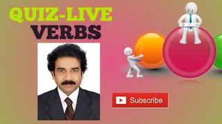"""""""QUIZ 3"""" LIVE QUIZ """"VERBS"""" 02-09-2020"""