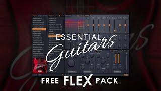 FLEX | Essential Guitars & Essential Bass Guitars (FREE)