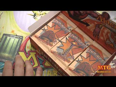 MTG Unhinged Booster Box Opening 13