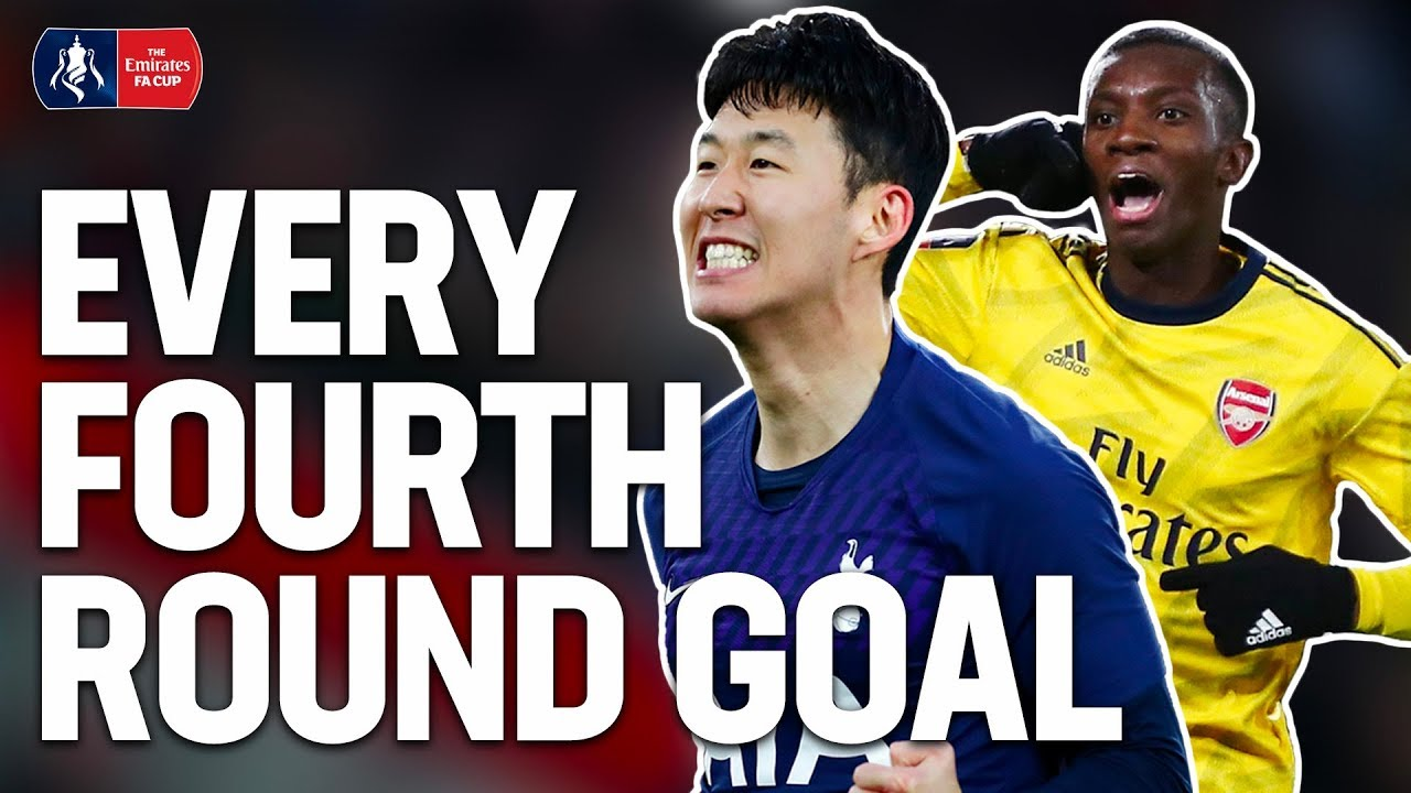 Saka's Screamer or Woodrow's Worldie? | EVERY GOAL OF THE FOURTH ROUND | Emirates FA Cup 1