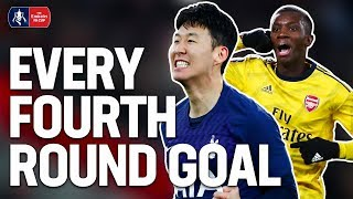 Saka's Screamer or Woodrow's Worldie? | EVERY GOAL OF THE FOURTH ROUND | Emirates FA Cup 19/20