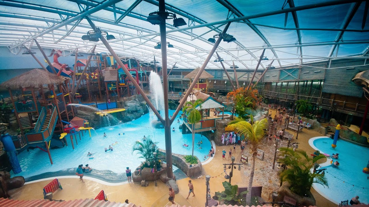 Alton Towers Waterpark 1 St Of January 2017 Youtube