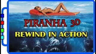 Piranha 3D |Best Piranha | Attack Scenes | Rewind in Action | Newly Experimented, Never Seen Before
