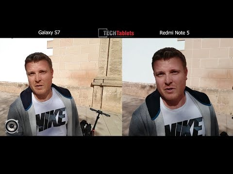 Xiaomi Redmi Note 5 CN Vs Samsung Galaxy S7 Camera Comparison