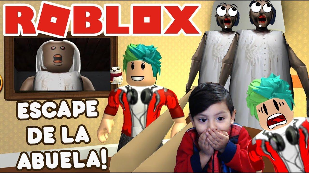 Nuevo Escape De Granny Escapa De La Abuela Malvada En Roblox