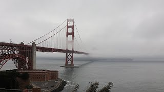 OUR GOLDEN GATE BRIDGE ADVENTURE (COLD AND FOGGY!!) | EP11