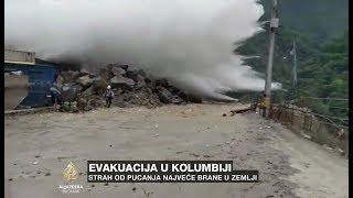 Najveća brana u Kolumbiji pred pucanjem, ugroženo 12 gradova