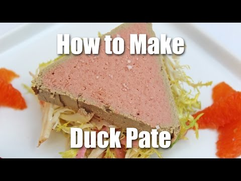 How To Make Duck Pate