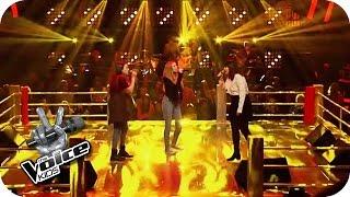 Ed Sheeran Give Me Love Lara Chiara Indra The Voice Kids 2016 Battles SAT 1