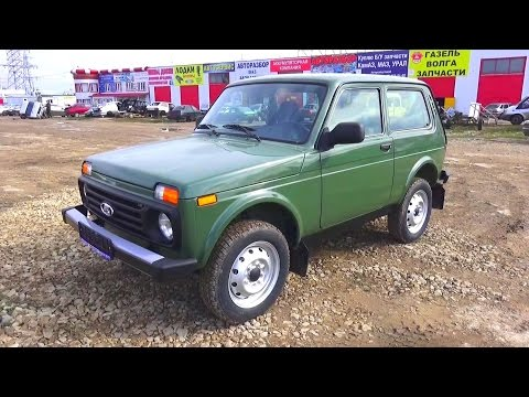 2016 Lada 4x4 Niva. Start Up, Engine, and In Depth Tour.