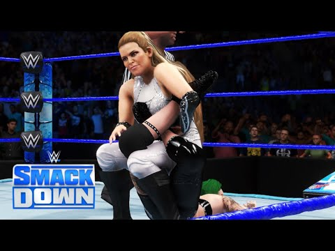 WWE 2K20 SMACKDOWN NATALYA (W/LANA) VS RUBY RIOTT (W/LIV MORGAN)
