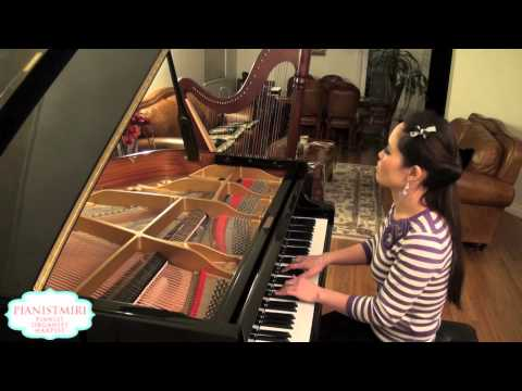 Jennifer Lopez -  On the Floor ft. Pitbull | Piano Cover by Pianistmiri