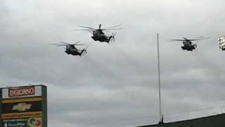 lambeau field helicopter flyover 11 16 08