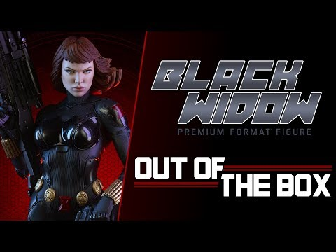 Black Widow Premium Format™ Figure: Out of the Box - Exclusive