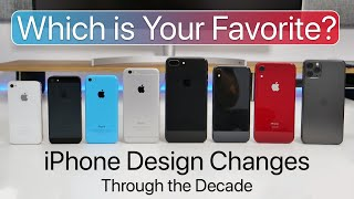 iPhone designs of the past decade (2010-2020) - Which iPhone is best?