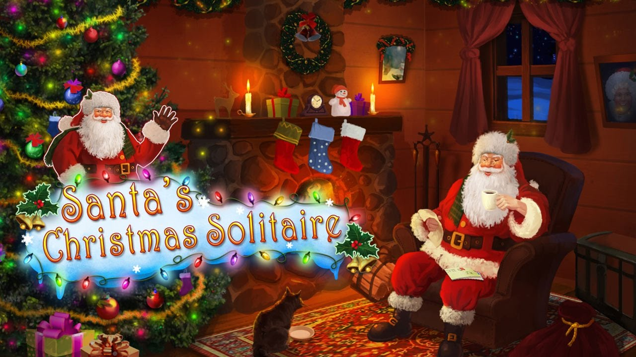 Christmas Solitaire.Santa S Christmas Solitaire