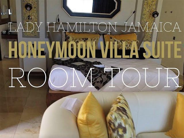 Lady Hamilton Honeymoon Villa Suite Tour Youtube
