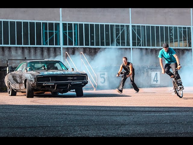Dodge Charger Drift   OLD DOWN FACTORY behind the scenes