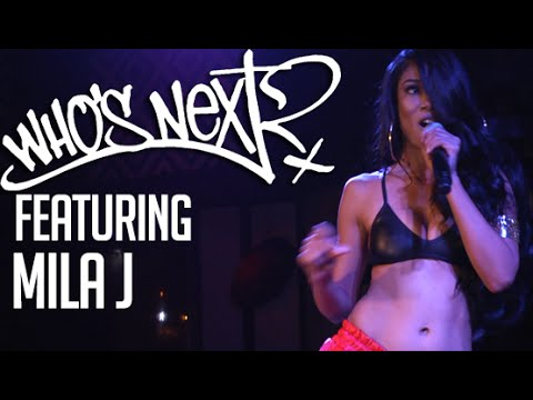"""MILA J, BJ THE CHICAGO KID - Hot97's """"Who's Next Live"""""""