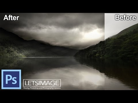 How to Create a Magical Scene in Photoshop - Example: The Dark Valley