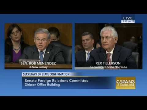 Rex Tillerson Dodges Questions On Exxon And Iran 01:11:17