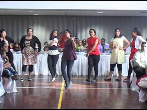 Surprise Bride and Bridesmaids dance - Liliani Hehepoto Wedding Dance