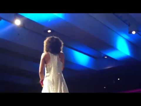 Amel Larrieux performs Groove Theory  tell me   at wbls 2013  Cirlce Of Sisters concert