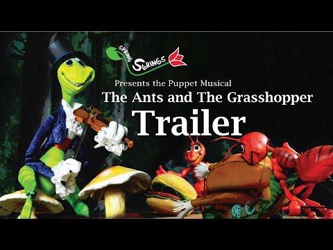 Spring Strings Puppet Musical Trailer- The Ants & The Grasshopper